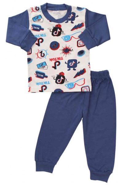 pijamale bumbac copii tiktok