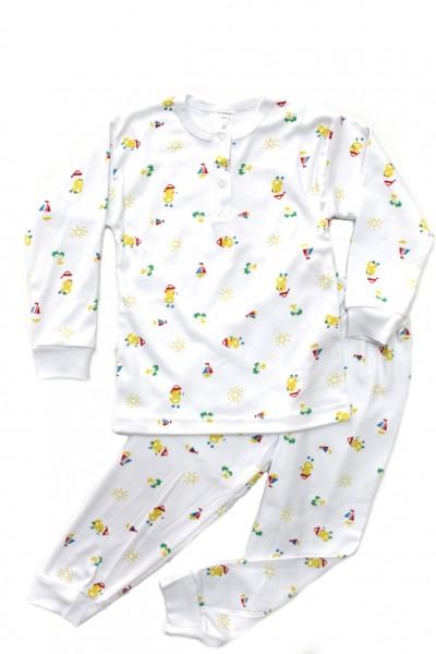 pijama copii baby confex imprimeu bobocei