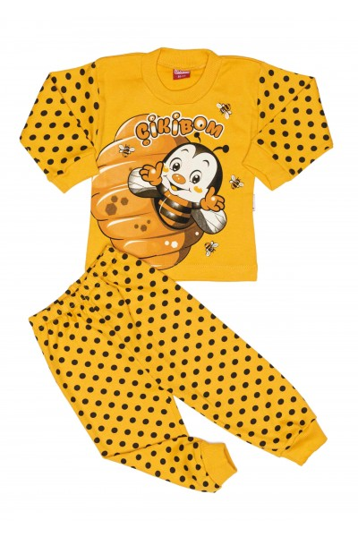 Pijama cikibom albinuta