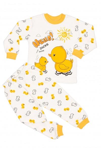 Pijamale copii bumbac imprimeu bobocei
