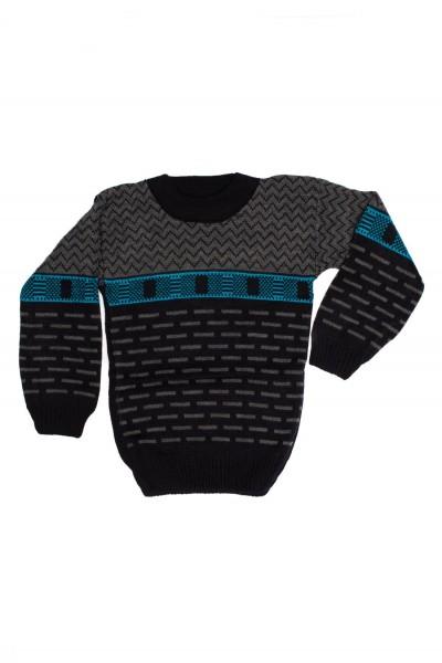 pulover copii ocut bleumarin si gri