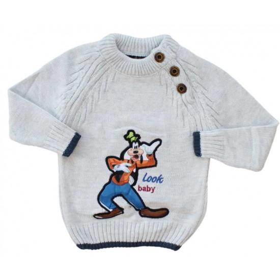 pulover copii gri catel