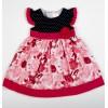 Rochita + chilotel Alice Kids model floral roz