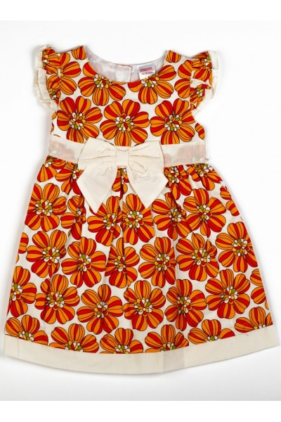Rochita model floral orange Gymboree