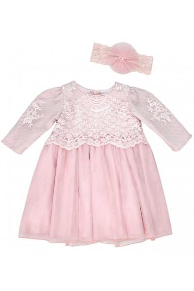 rochita ocazie roz pudrat