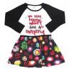 rochita fetite imprimeu floral