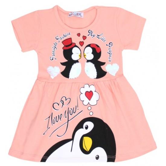 rochita pinguin roz piersica