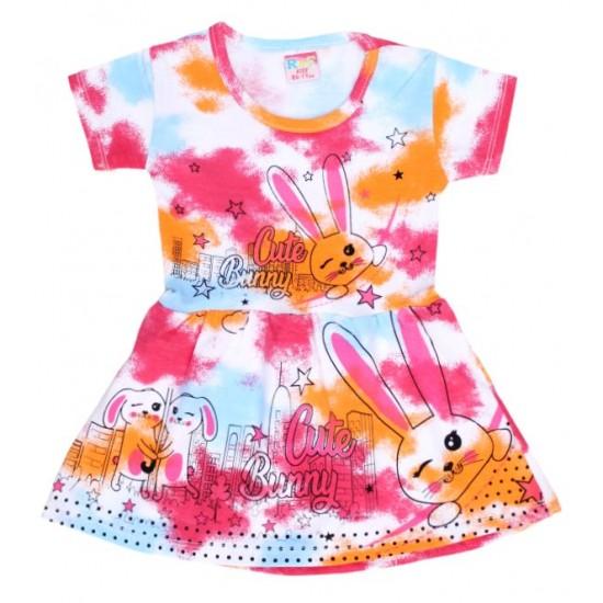 rochita portocaliu cyclame cute bunny
