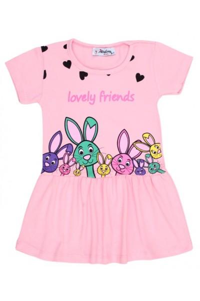 rochita iepuras piersica lovely friends
