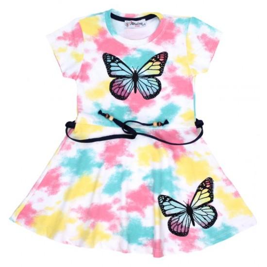 rochita multicolora fluturas