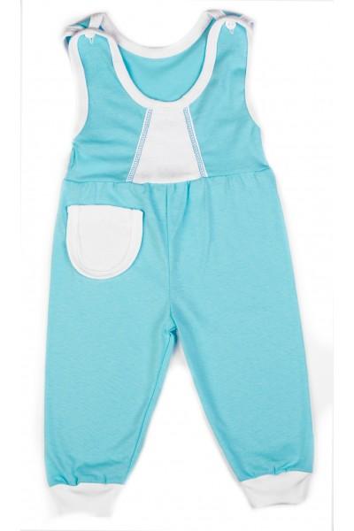 Salopeta Baby Azuga albastru azur