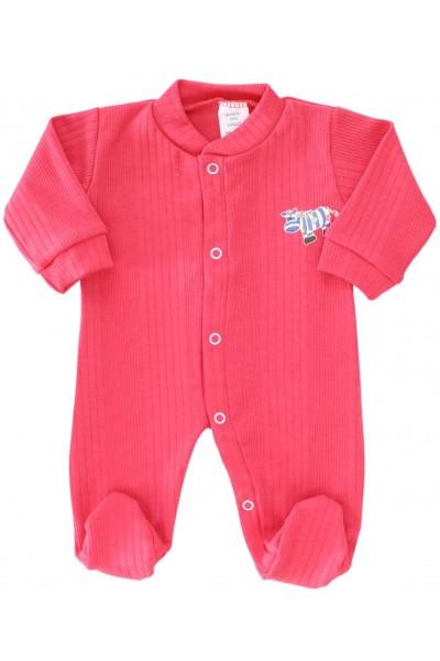 Salopeta bebe bumbac bc rosu