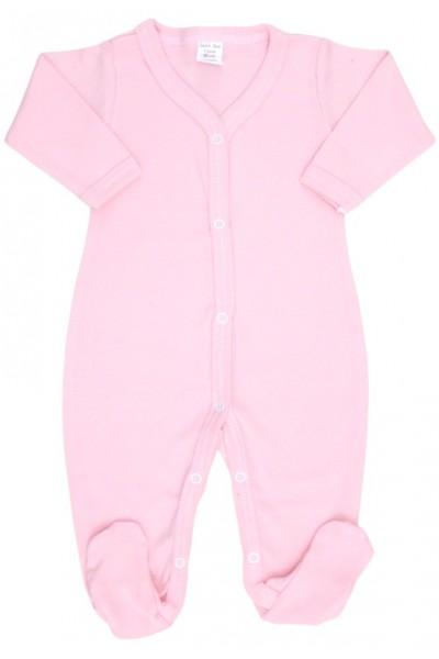 salopeta bebe bumbac roz