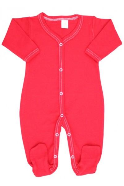 salopeta bebe bumbac rosie