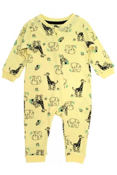 salopeta bebelusi galbena safari