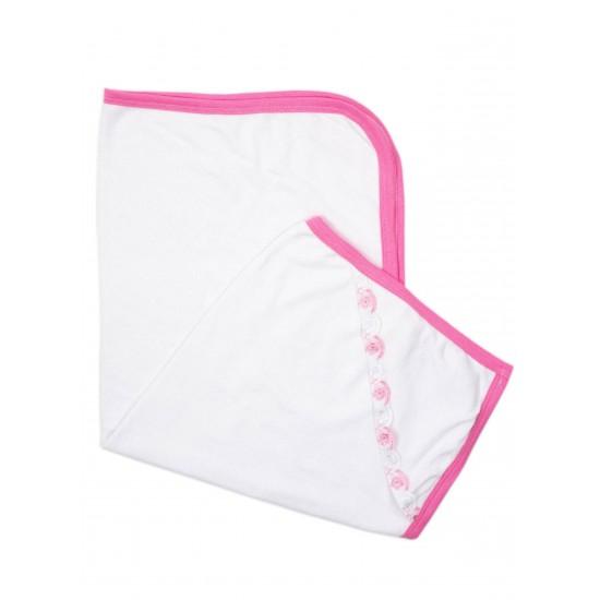Prosop baita bebe ub dantela roz