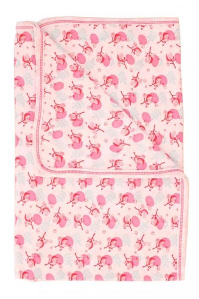 paturica bumbac azuga flori roz