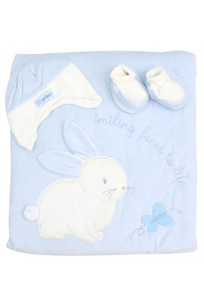 port-bebe bleu ursulet