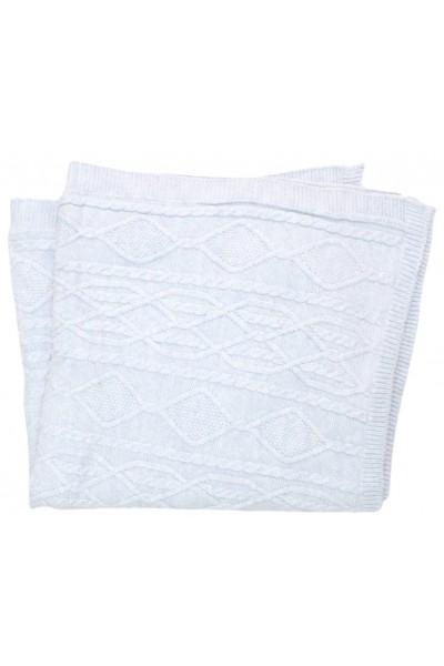 paturica tricotata bleu