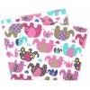 Scutec bumbac elefanti colorati