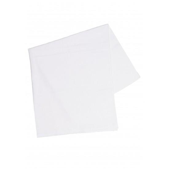 Scutec bumbac kara alb 75/75 cm