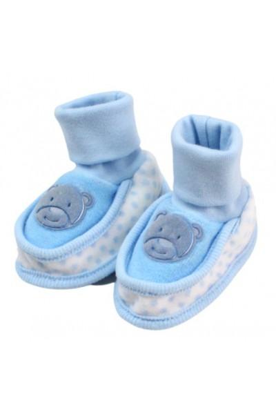 botosei bebe catifea ewe bleu
