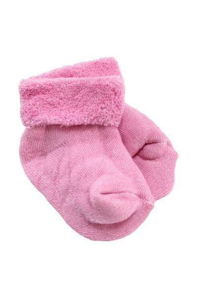 Set sosete bebe 2 perechi roz