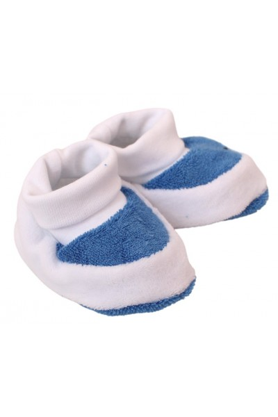 botosei bebe catifea albastra