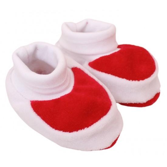 Botosei bebe catifea rosii