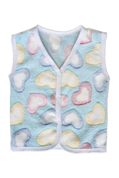 vesta copii cocolino inimioare colorate