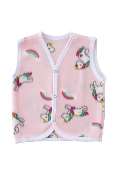 Vesta copii polar roz unicorni