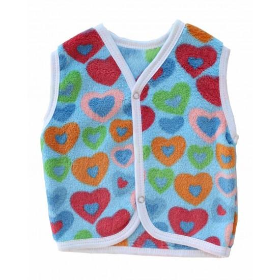 Vesta cocolino albastra inimi