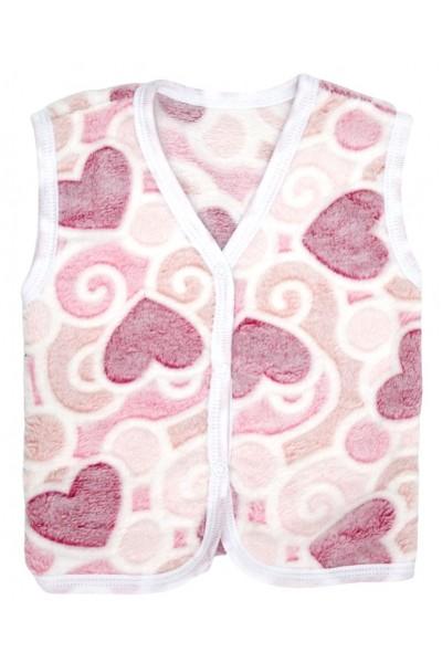 Vesta cocolino inimioare roz