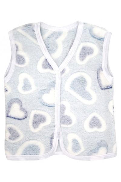 Vesta cocolino inimioare albastre